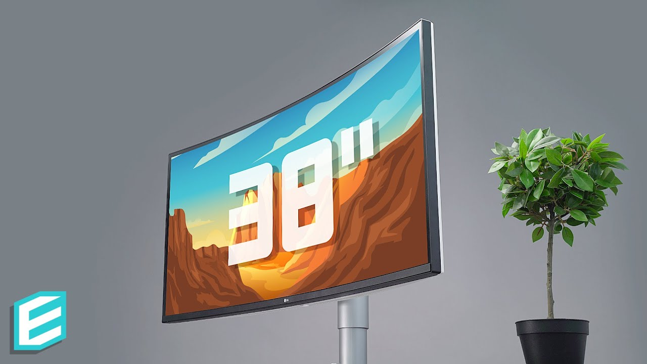 LG ULTRAWIDE Gaming Monitor Review- The Curved 38 inch KING 38WN95C-W