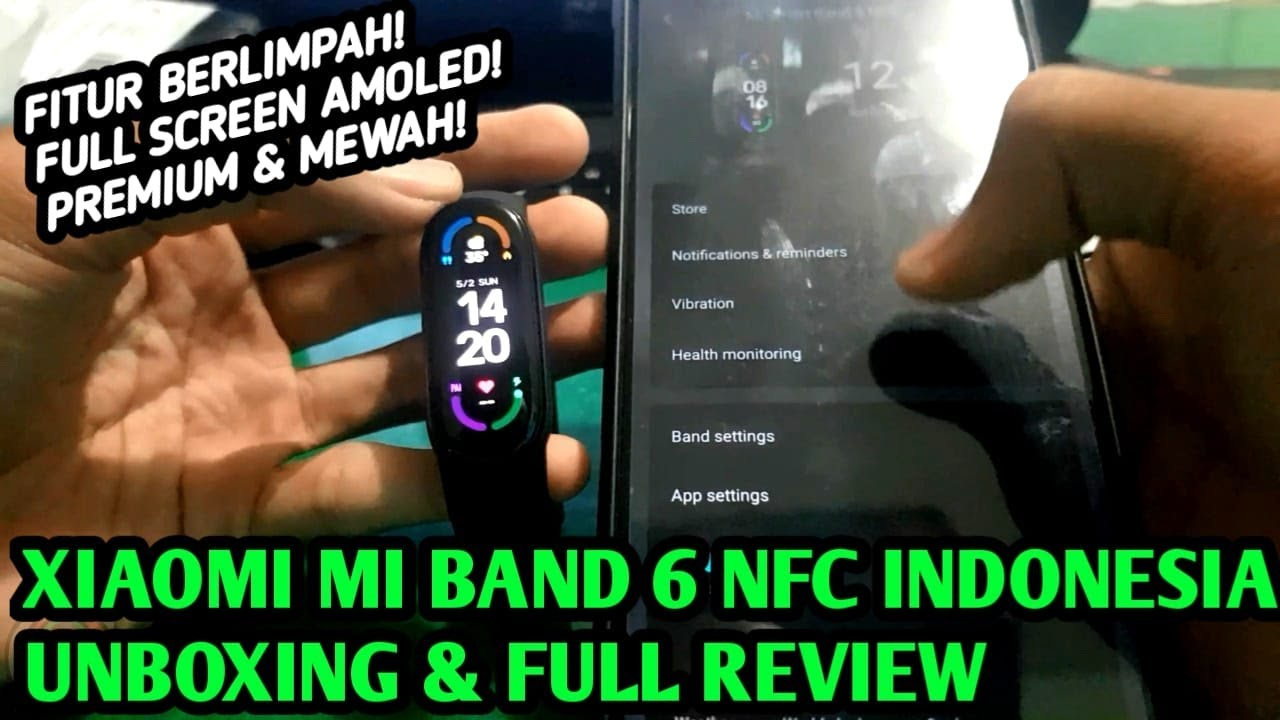 Wajib Upgrade! Unboxing & Full Review Mi Band 6 NFC Indonesia
