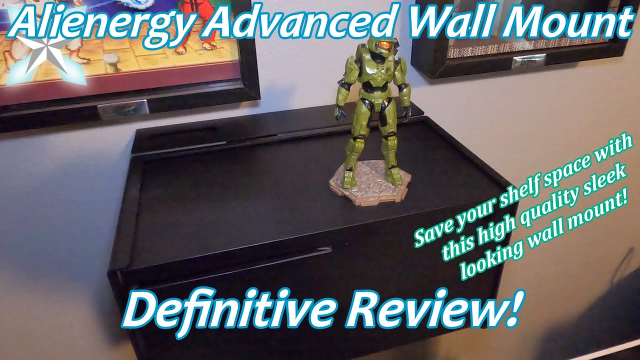 Alienergy Xbox Series X Advanced Wall Mount Review: Save Your Shelf Space!