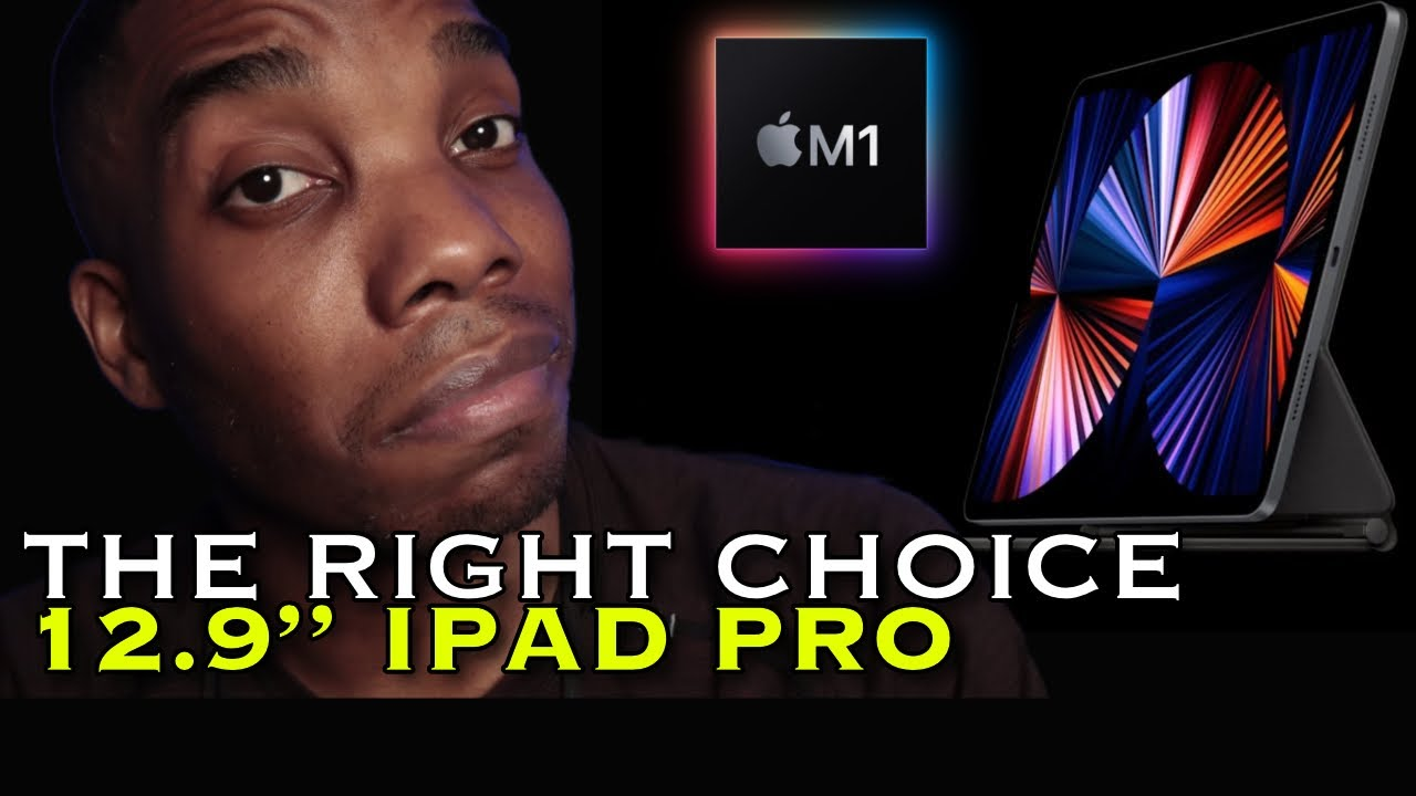 """YOU SHOULD buy the 12.9"""" iPad Pro"""