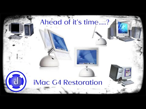 Apple iMac G4: Restoration, Retro Review, Gaming – Ahead of it's time