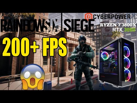 HOW WELL DOES RAINBOW SIX SEIGE PLAY ON CYBERPOWERPC?