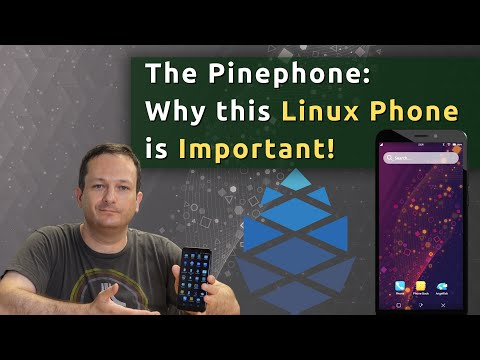 Pinephone Review (and why we NEED this phone!)