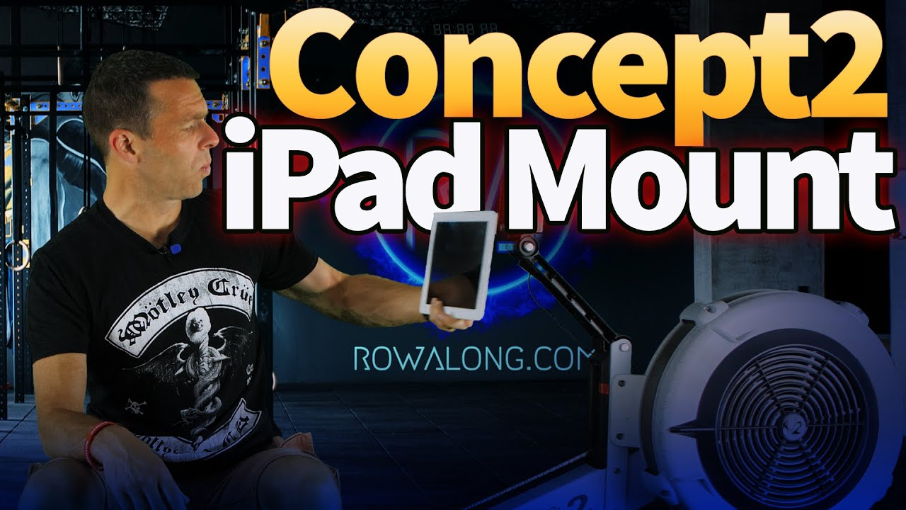 Cheap iPad Holder for Concept 2 Rowing Machine Review