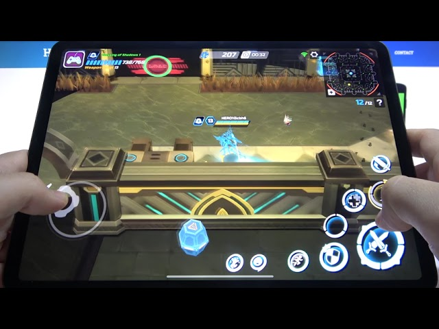 iPad Pro 2021 – Overdox Game & Settings Review
