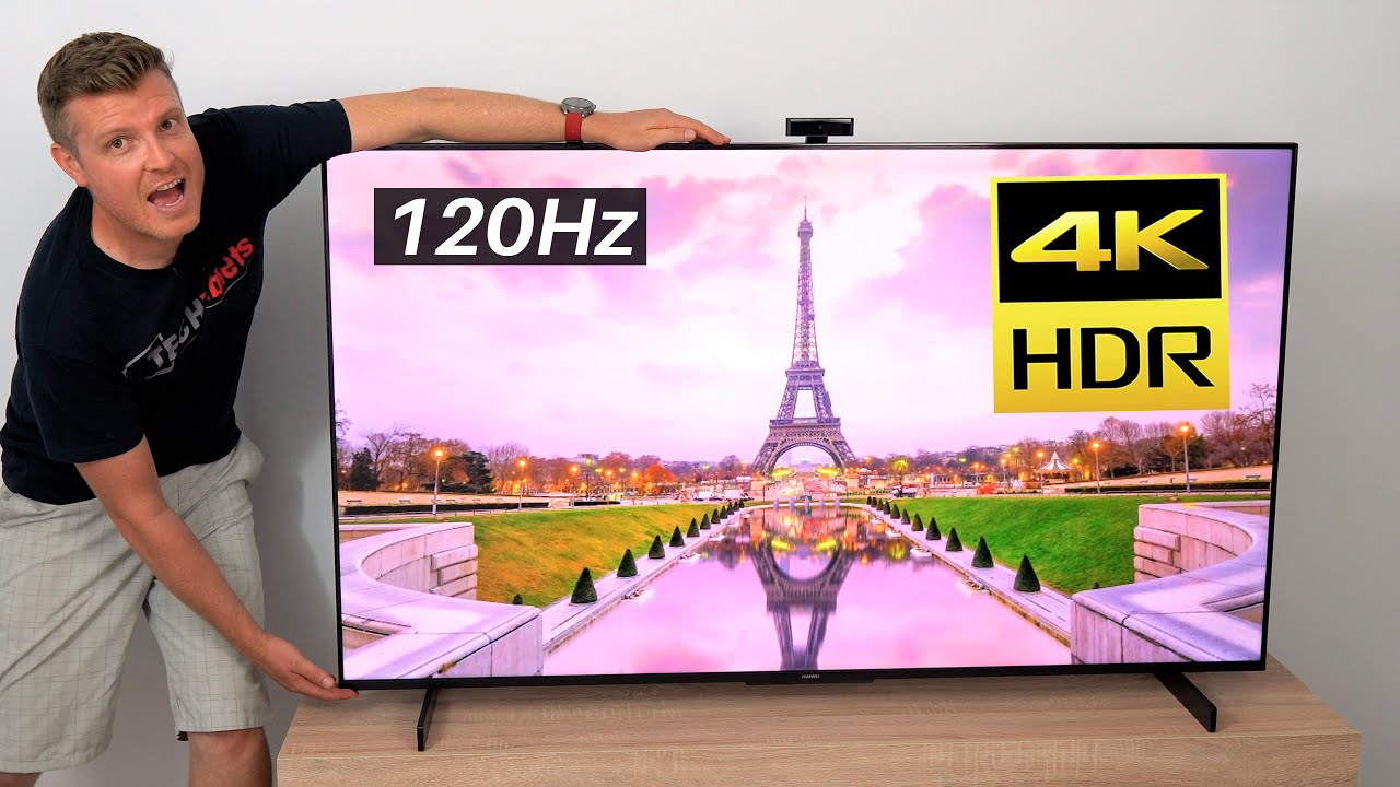 """Huawei Vision S Review MASSIVE 65"""" 4K 120hz Smart Screen!"""