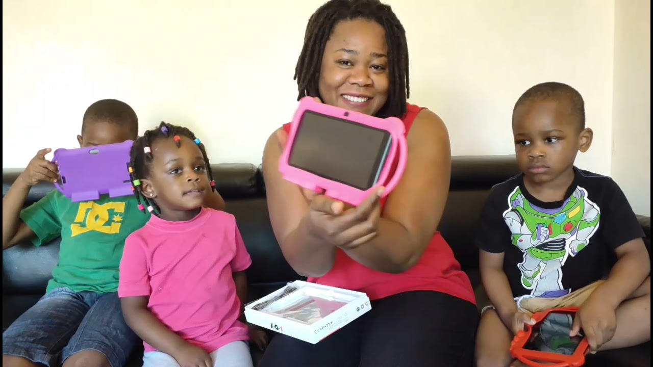 Unboxing Kids' Xgody Android Tablets| Fun time with my kids