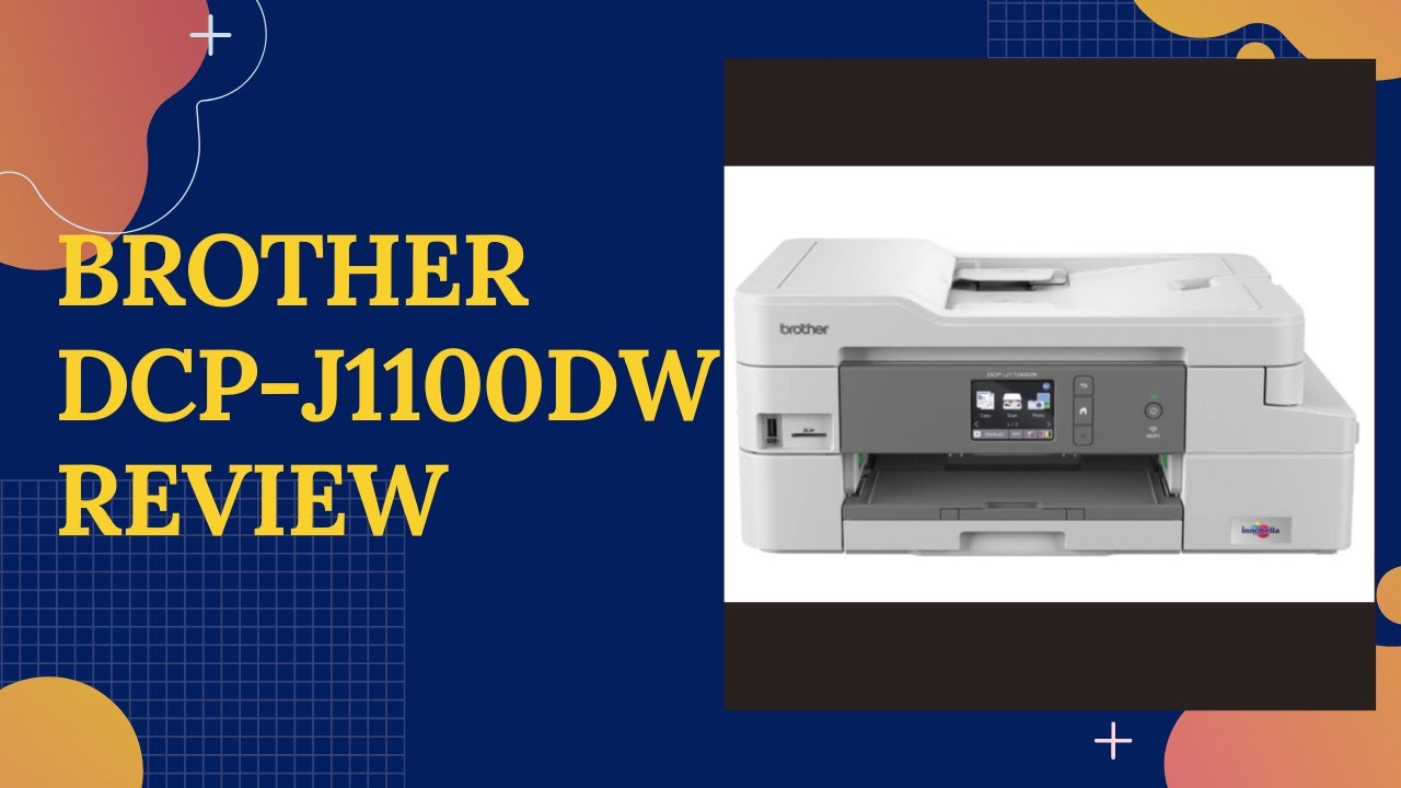 Brother DCP-J1100DW All-in-box Review