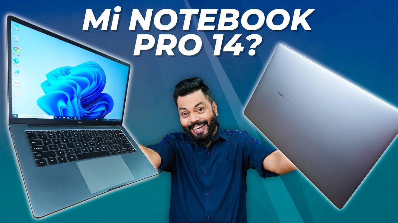 RedmiBook Pro 14 First Impressions & Quick Review ⚡ Mi Notebook Pro 14 In India?   Ryzen 7, 16GB RAM