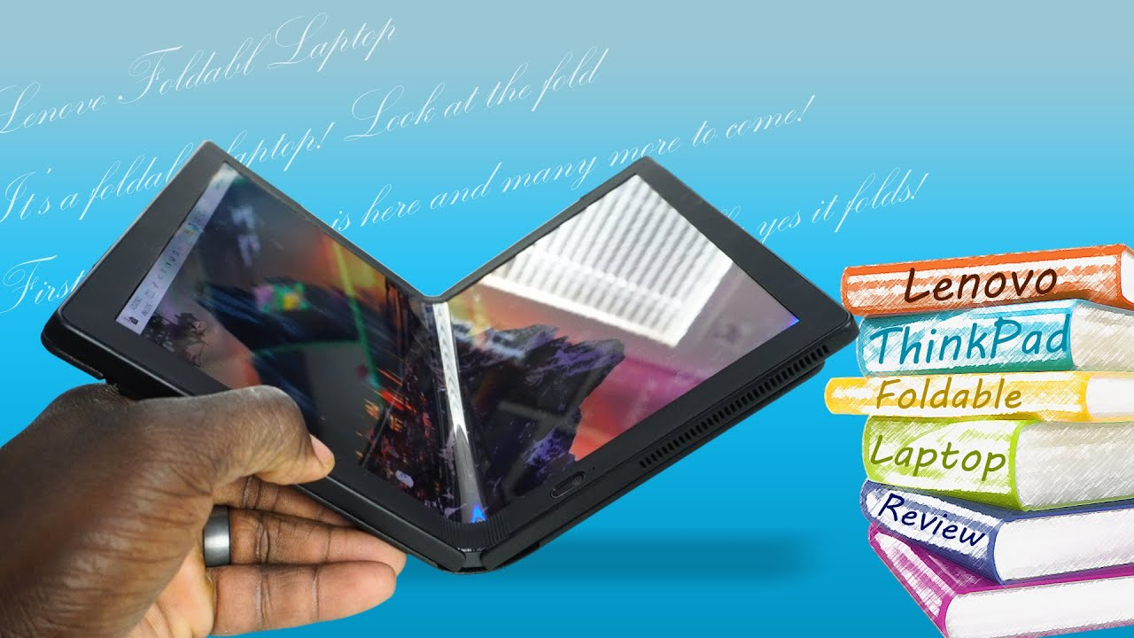 Lenovo ThinkPad X1 Fold Hands on Review: First Foldable Laptop!