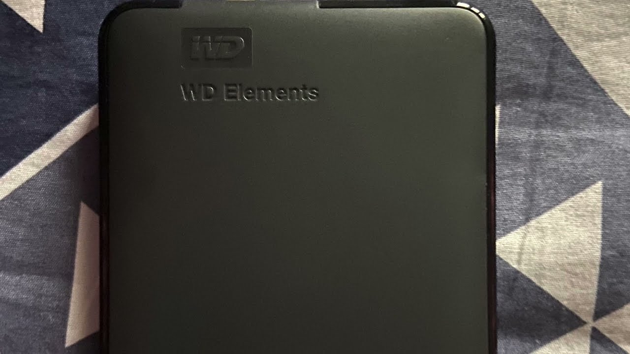 WD external HD 1.5 TB unboxing and review