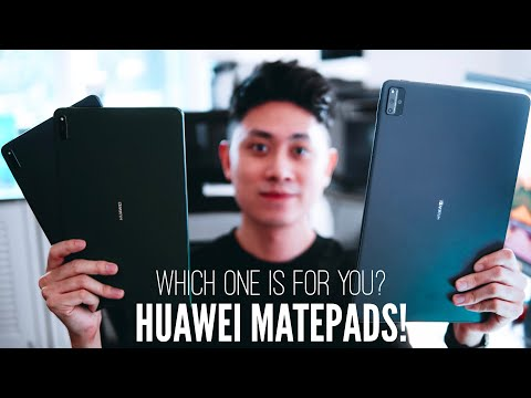 MASSIVE HUAWEI MatePad Tablet Hands-On! NOW WORKING WITH MOST APPS! WFH Productivity Machines!