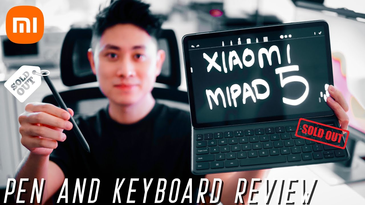 Xiaomi Mi Pad 5 Keyboard & Xiaomi Smart Pen Review: FULLY SOLD OUT! Are They Really That Good?
