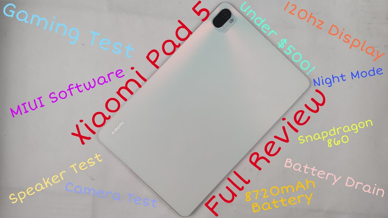 Xiaomi Pad 5 Review: Tablet of the year?