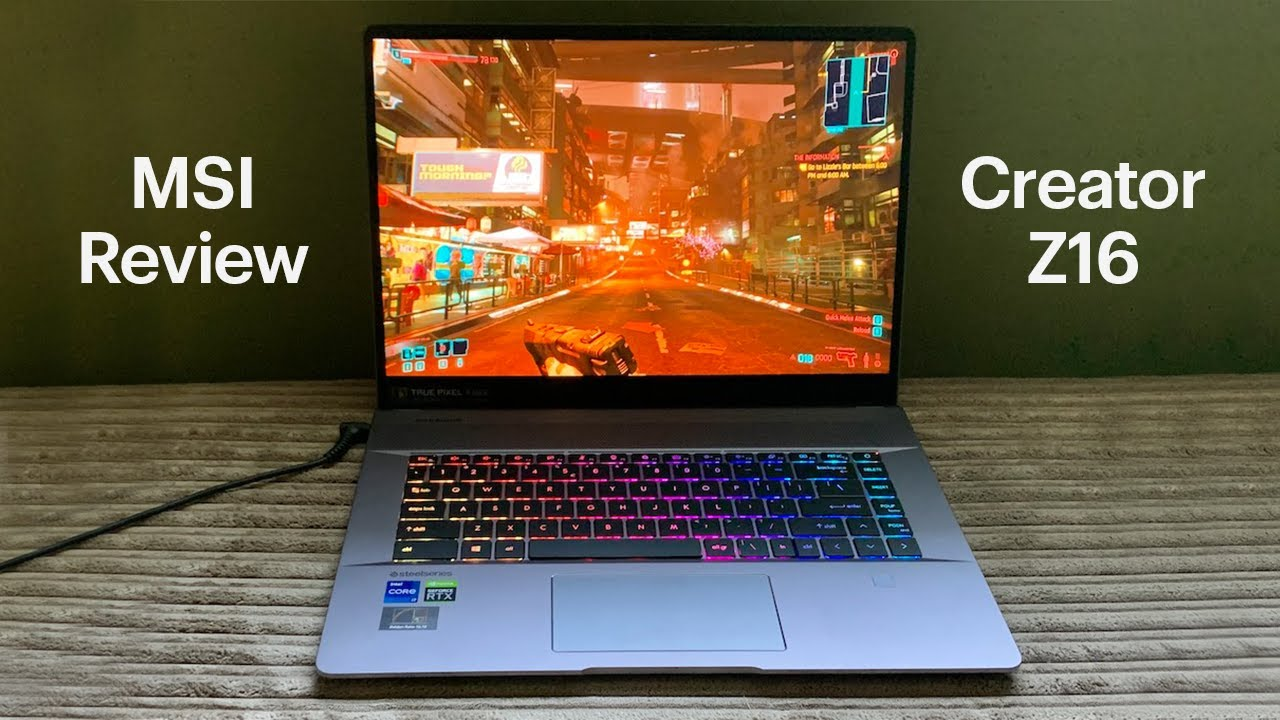 MSI Creator Z16 Review: A High-Performance Touchscreen Laptop