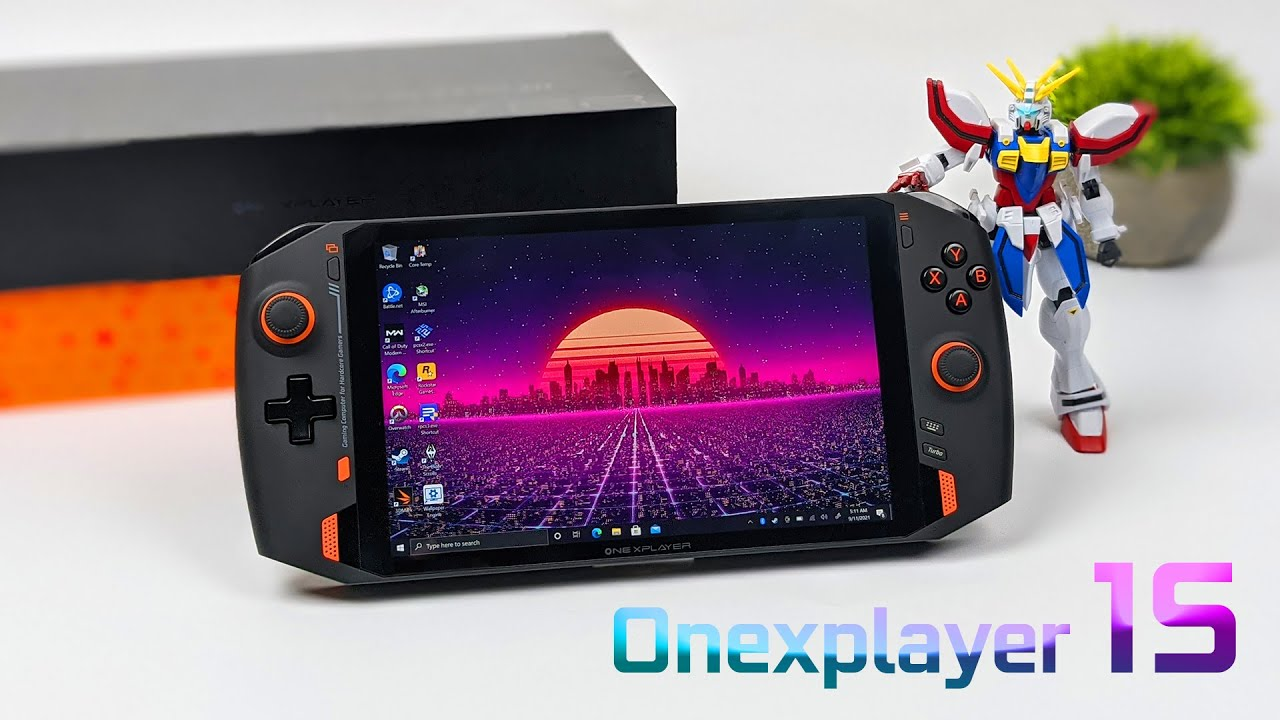 This Handheld PC Has A 5GHz CPU! ONEXPLAYER 1S First Look