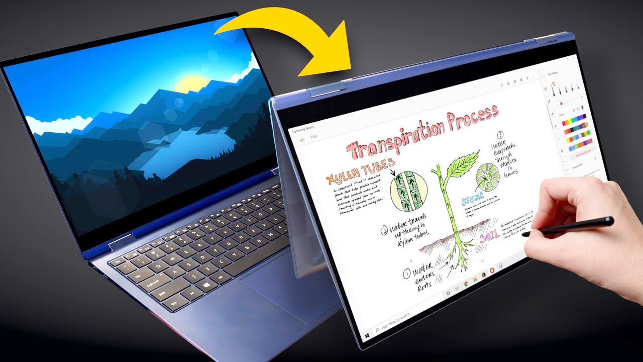 Galaxy Book Pro 360 Review: The Jack of All Trades