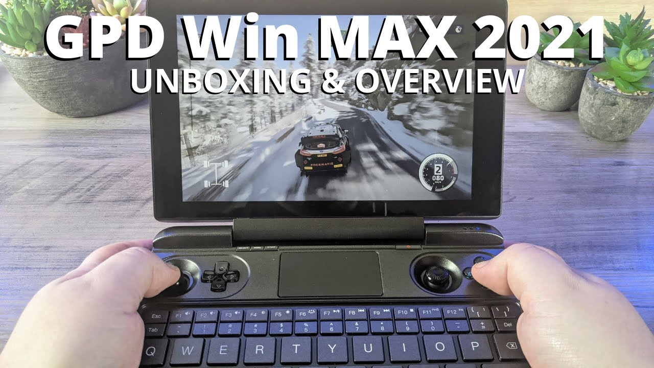 GPD Win MAX 2021 Review – Intel and AMD Handheld Gaming PC Unboxing and Overview
