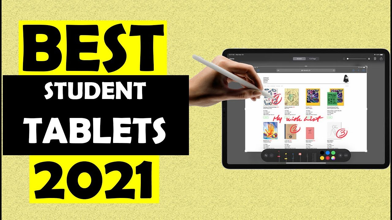 TOP 05: Best Tablet for Students of 2021