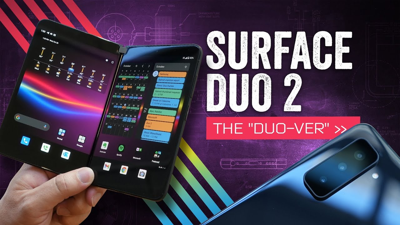 Microsoft Surface Duo 2 Review: Double Jeopardy