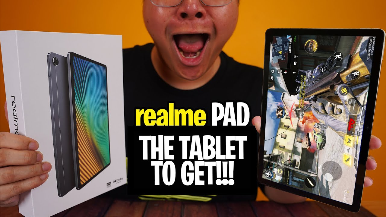 realme Pad – FIRST TABLET FROM THE NUMBER ONE BRAND!