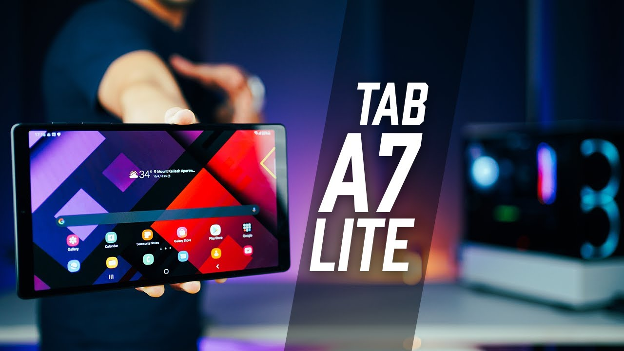 Samsung Galaxy Tab A7 Lite – Budget Android Tablet in 2021!