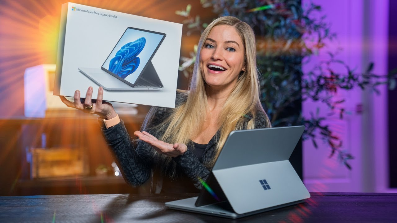 All NEW Microsoft Surface Laptop Studio Unboxing!