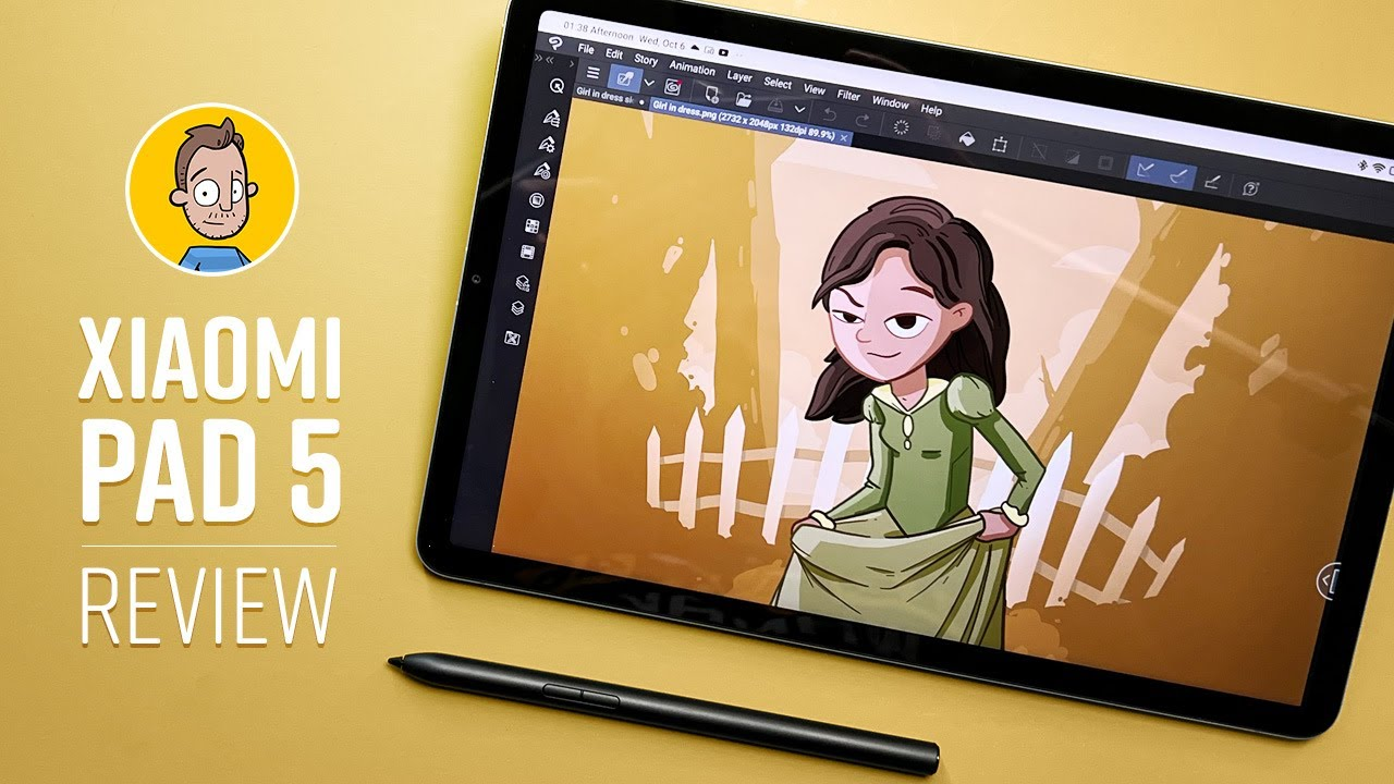 Drawing on the Xiaomi Pad 5 Review