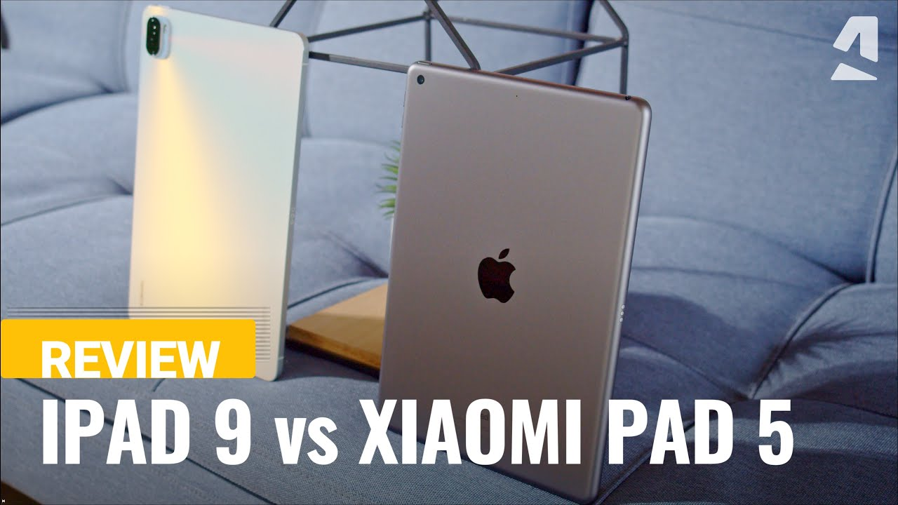 Apple iPad 9 (2021) vs. Xiaomi Pad 5: Which is the best tablet?