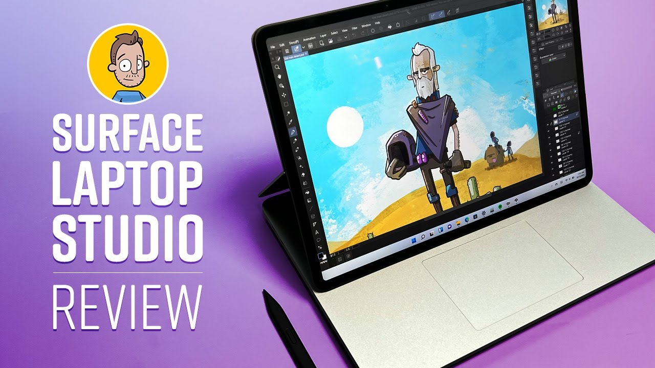 Drawing on the Surface Laptop Studio Review