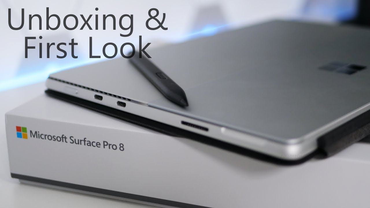 2021 Surface Pro 8 – Unboxing and First Look